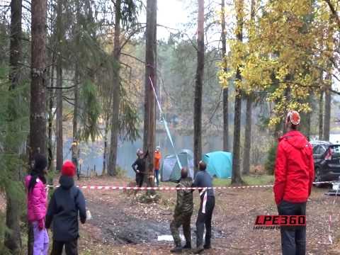 Как НЕ надо убегать от падающего дерева