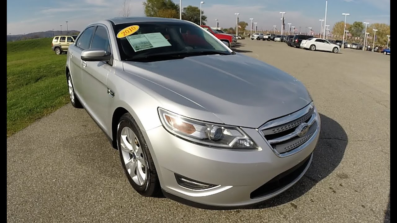 2010 ford taurus sel silver martinsville in used ford cars sunroof p10006