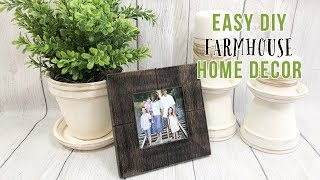 SPRING DECOR | FARMHOUSE DECOR DIY | BUDGET DECOR