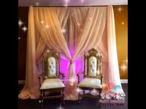 Pipe and Drape Fabric Backdrops