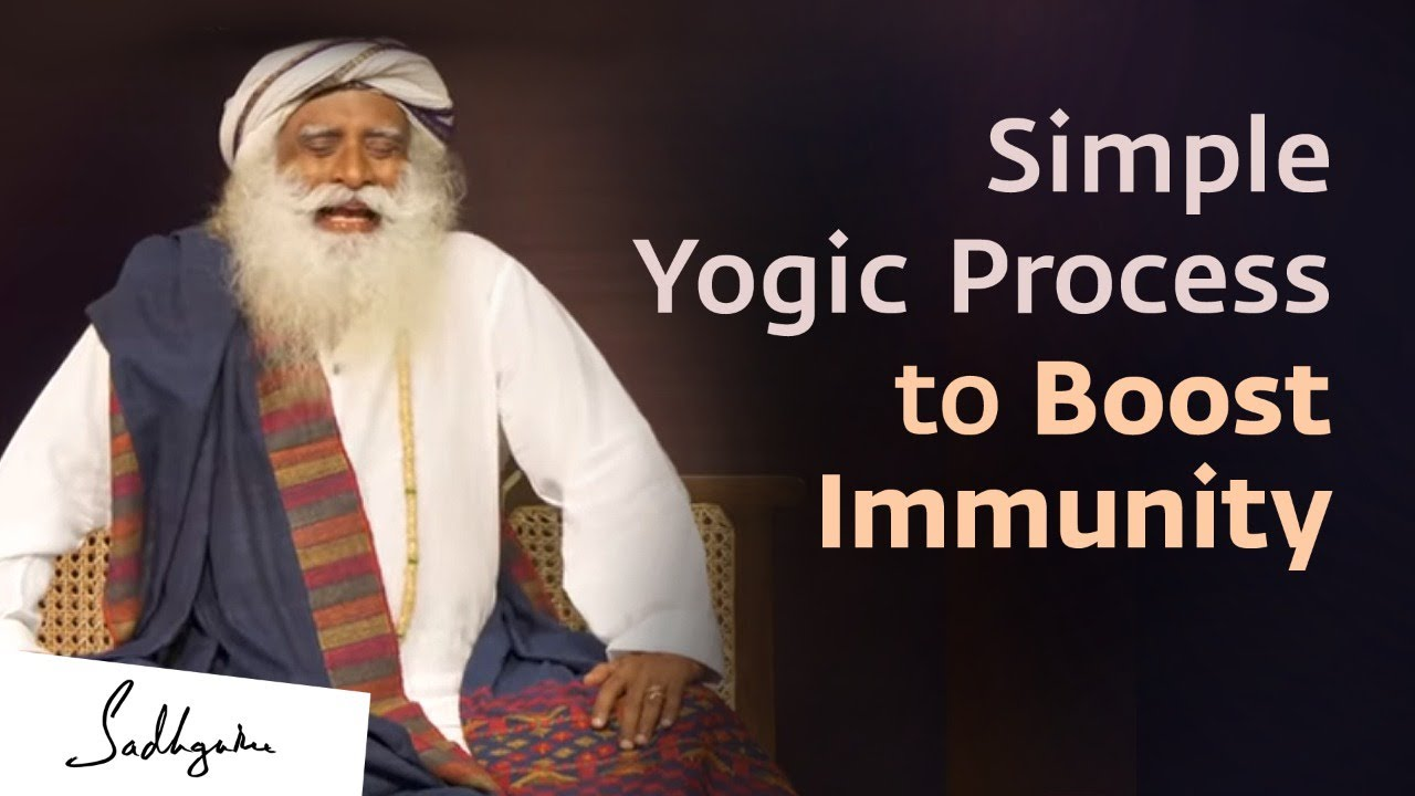 Simha Kriya - A Simple but Powerful Yogic Process to Enhance Lung Capacity and Help Improve Immunity