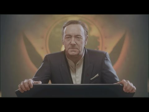Call of Duty Advanced Warfare All Jonathan Irons Scenes / Kevin Spacey Scenes