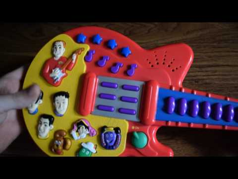 THE WiGGLES MUSICAL GUITAR SING AND DANCE SPIN MASTER MURRAY KIDS TOY SONGS
