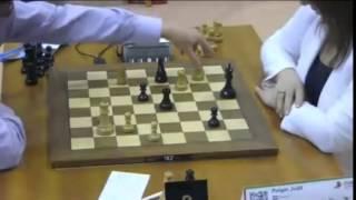 Vachier-Lagrave vs Polgar - 2014 World Blitz Championship