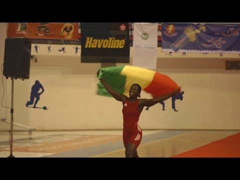 Faces Of Africa - Female Wrestlers of Senegal - Part 1