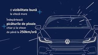 Avantajele pieselor originale VW: Ştergătoarele