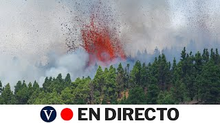 DIRECTO: Erupción del volcán en La Palma