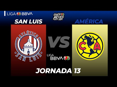 San Luis Club America Goals And Highlights