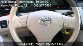 2005 Toyota Camry Solara SLE Convertible - for sale in Phoen