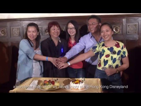 Mega Trade Familiarization Tour at Hong Kong Disneyland (June – August 2015)