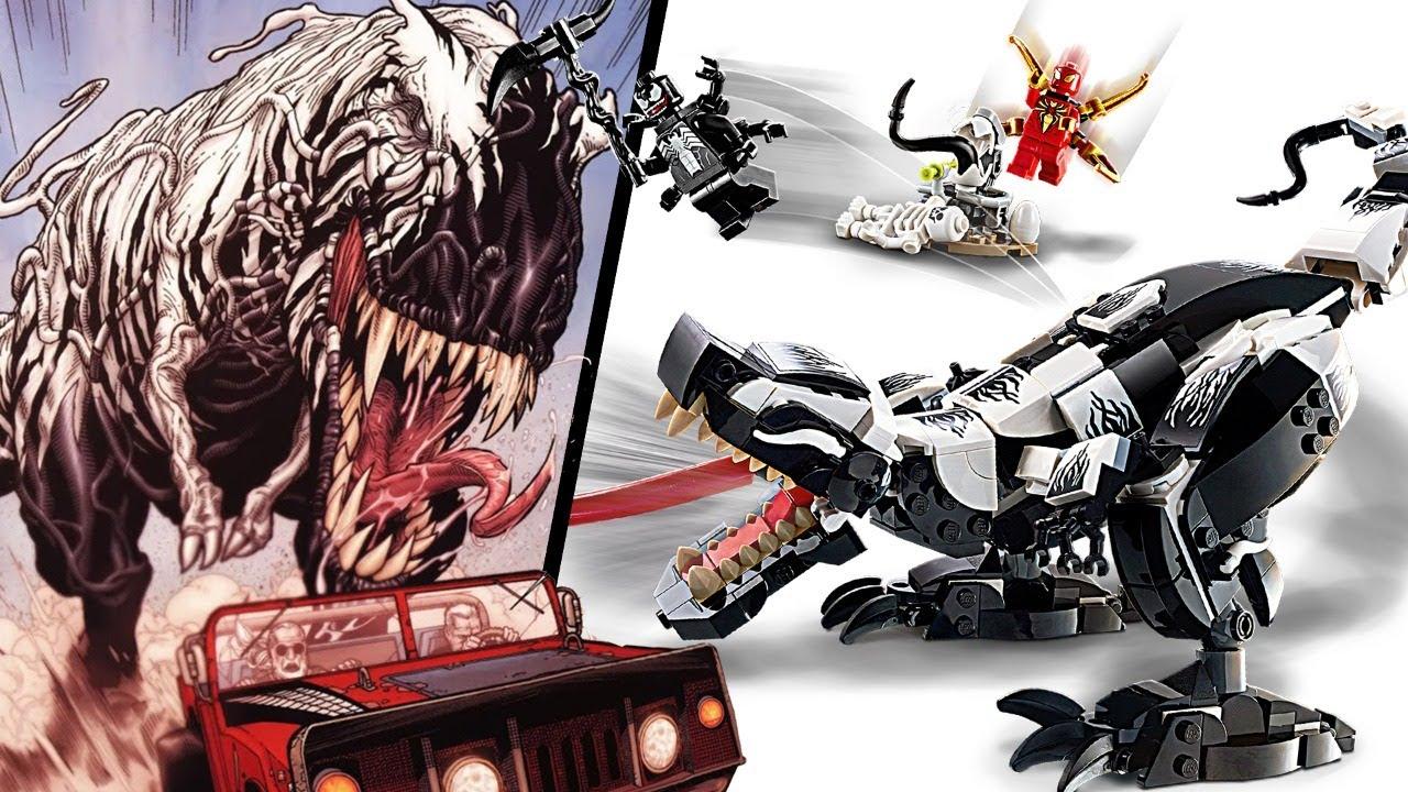 Building VENOMOSAURUS REX with Justin Warner! | LEGO Marvel Build