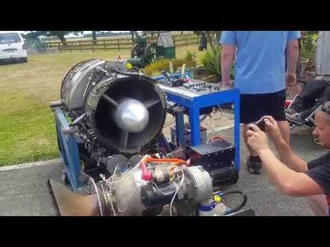 Rolls Royce Viper Engine Runs
