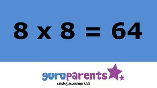 Times tables song 8