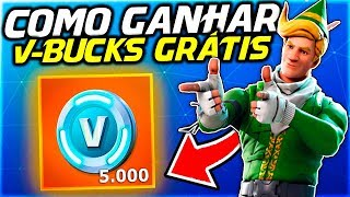 HOW TO WIN 5000 V-BUCKS FREE AT FORTNITE!!!