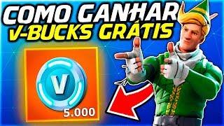 COMO GANHAR 5 MIL V-BUCKS GRÁTIS NO FORTNITE!!!