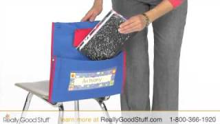 Store More Deluxe Chair Pocket - Really Good Stuff®