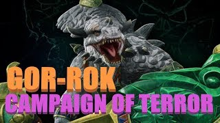 The Most Terrifying Saurus - Gor Rok Terror Campaign Livestream