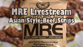 MRE Livestream: Asian Style Beef Strips