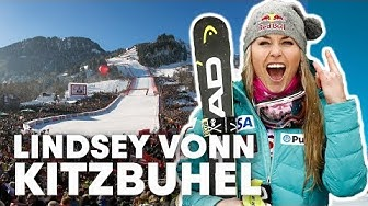 A Tour of the Legendary Kitzbühel Ski Race with Lindsey Vonn