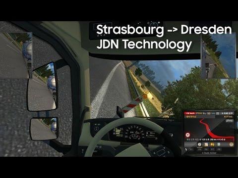 유로트럭2 스트라스부르-드레스덴 Eurotruck2 Strasbourg-Dresden