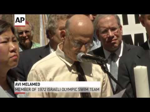 Moment Of Silence For 1972 Israeli Olympic Team