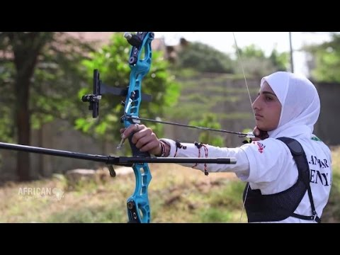Olympic star breaks boundaries with bow and arrow