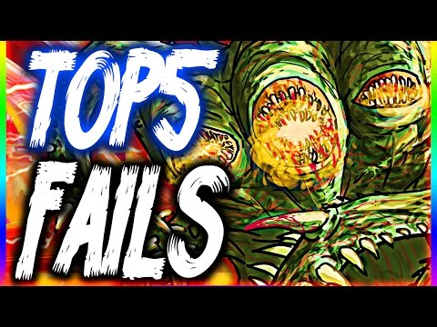 Top 5 Bo3 Zombie Fails | Week 8 (New Years 'Lit' Edition)