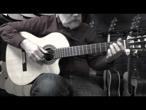 Alvarez CY70CE Acoustic Guitar DEMO - Manchester Music Mill