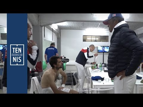 Coupe Davis 2018 - Italie / France - Minute Bleue #7 : Une victoire et une défaite | FFT