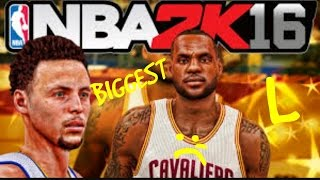 BIGGEST L IN 2K16 HISTORY😲!!!