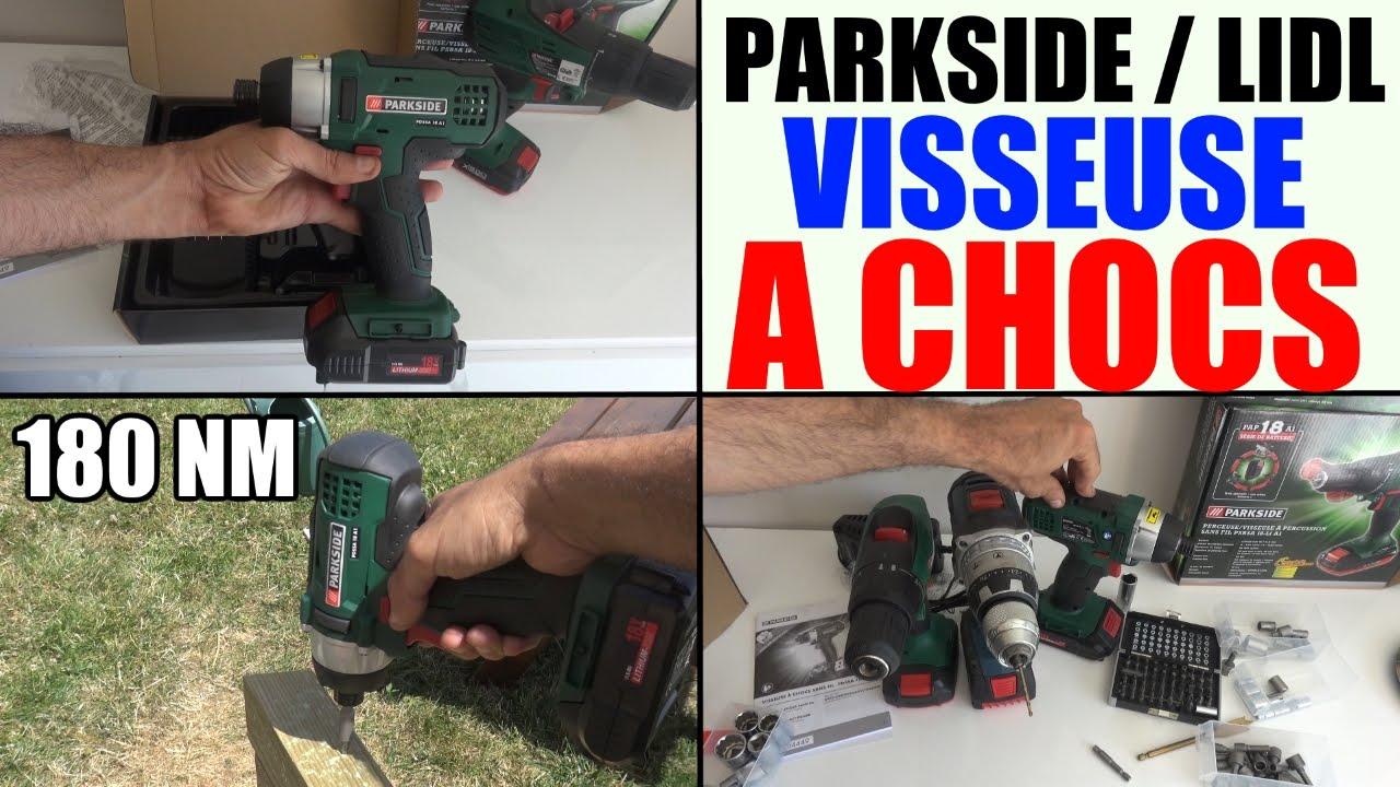 Visseuse chocs parkside pdssa 18 a1 lidl cordless impact - Visseuse devisseuse lidl ...
