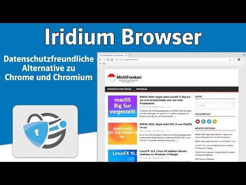 Iridium Browser: Datenschutzfreundliche Alternative zu Chrome und Chromium