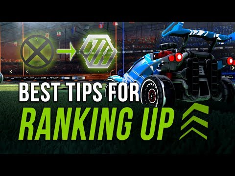 HOW TO RANK UP | Ultimate Tips Collection for Bronze - Silver | Beginner's Guide to ROCKET LEAGUE
