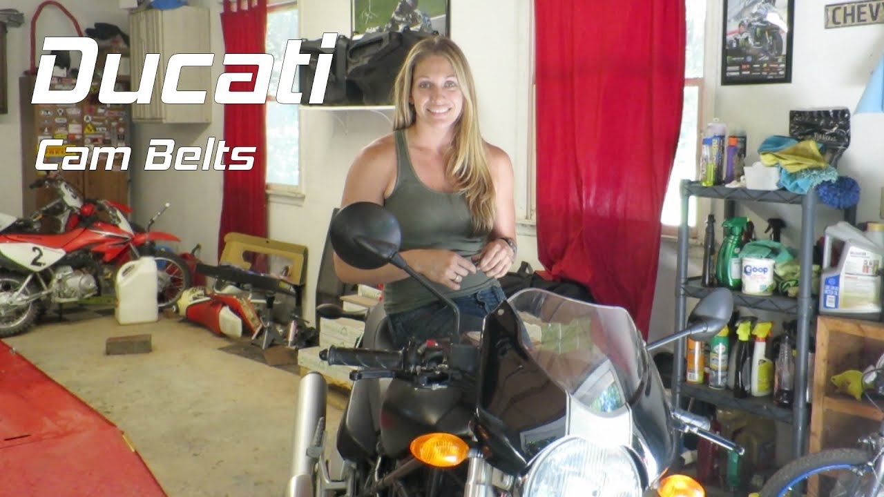 How To Change Ducati Cam Belts Back In The Garage Ducati Monster
