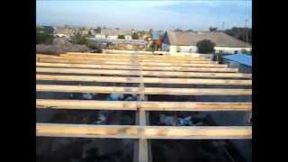 Устройство перекрытия по деревянным балкам (фото и видео)