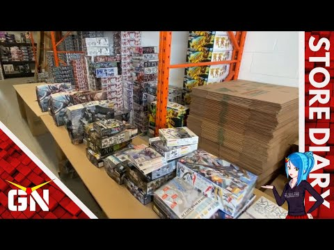 Sold $20,000+ Worth Of Gundam Kits In 3 Days! | Life As A Gundam Shop Owner