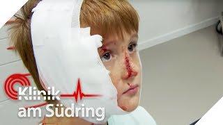 Fritz (11) hat Scherben im Gesicht! Was verheimlicht der große Bruder | Klinik am Südring | SAT.1 TV