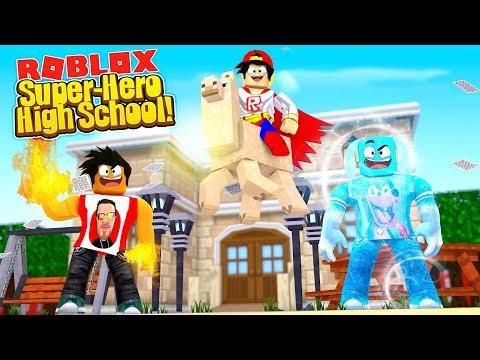 ROBLOX - SUPER-HERO HIGH SCHOOL!!!