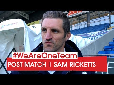 WATCH | Sam Ricketts after Chesterfield
