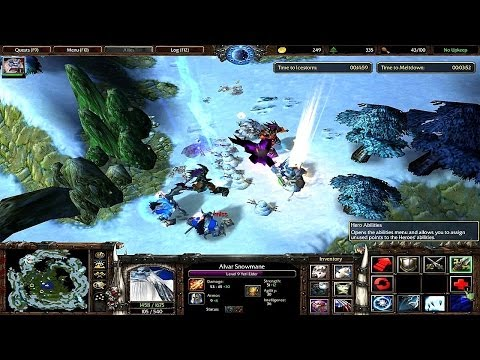 Warcraft 3 Avatar of Ice Part 29
