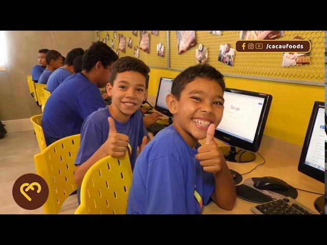 Projeto Educandário de Marília - Cacau Foods Social