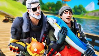 FISHING SECRETS! (A Fortnite Short Film)