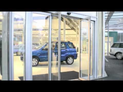 Puertas automaticas de sensor youtube for Motor puerta automatica