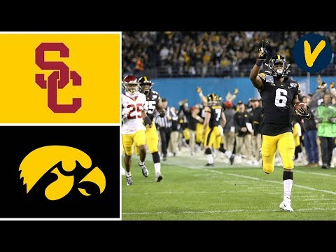 #22 USC Vs #16 Iowa Highlights | 2019 Holiday Bowl Highlights | College Football