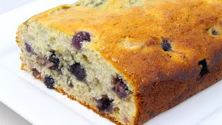 Banana & Blueberry Bread - Video Recipe