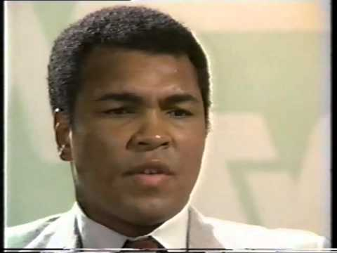 An afternoon with Muhammad Ali ...chatting with Sir Bob Jone