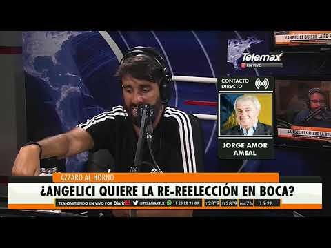 #Boca | Jorge Amor Ameal (Ex presidente de Boca) en #AzzaroAlHorno con Flavio Azzaro
