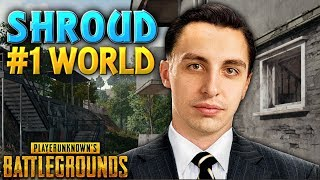 "#1 WORLD PUBG PLAYER | PUBG ""Shroud"" MONTAGE"