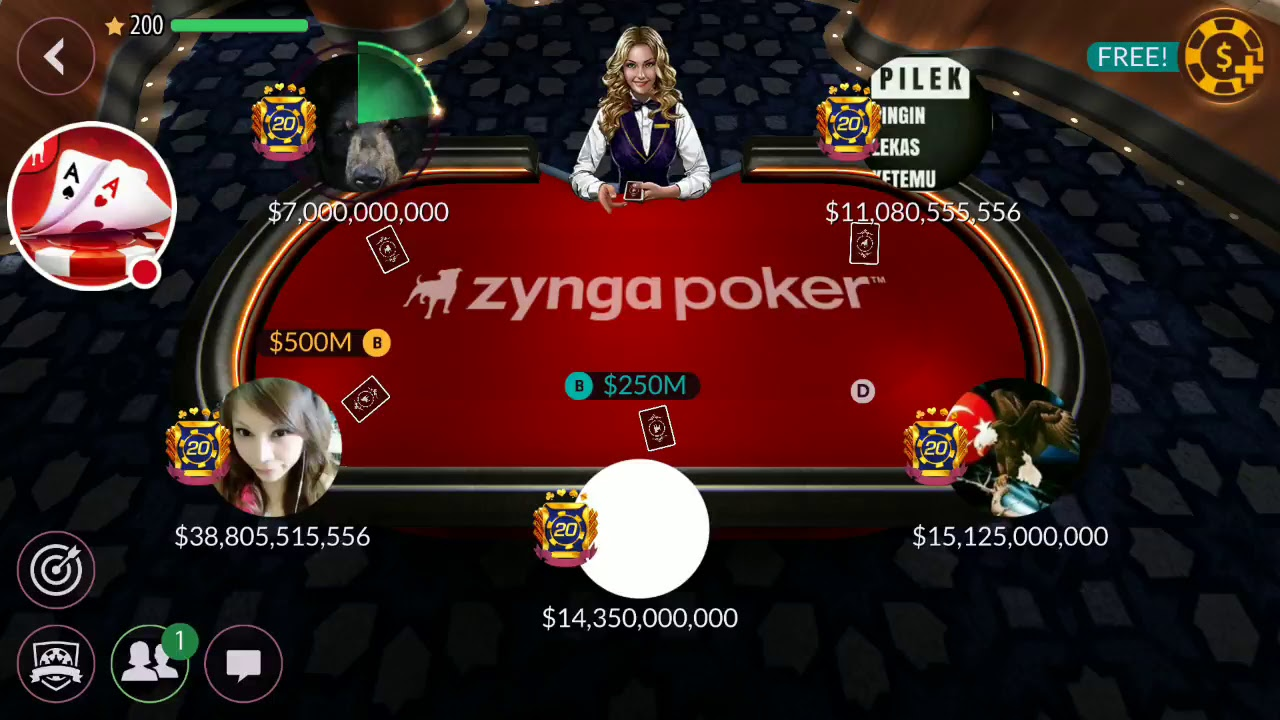 Zynga poker friends not showing