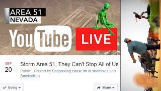 🔴 Area 51 Live: Storm Area 51, They Can't Stop All of Us